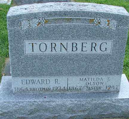 TORNBERG, EDWARD R. - Minnehaha County, South Dakota | EDWARD R. TORNBERG - South Dakota Gravestone Photos