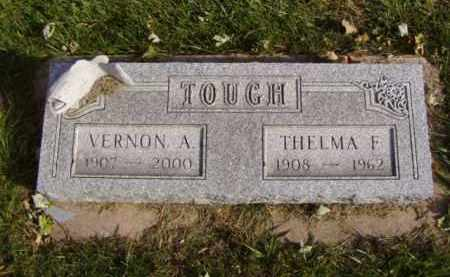 TOUGH, VERNON A. - Minnehaha County, South Dakota   VERNON A. TOUGH - South Dakota Gravestone Photos
