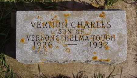 TOUGH, VERNON CHARLES - Minnehaha County, South Dakota   VERNON CHARLES TOUGH - South Dakota Gravestone Photos