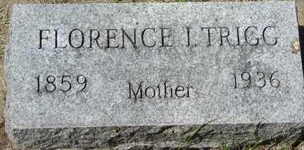 TRIGG, FLORENCE I. - Minnehaha County, South Dakota | FLORENCE I. TRIGG - South Dakota Gravestone Photos