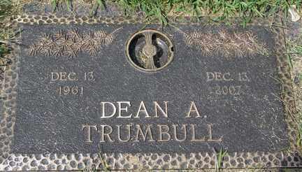 TRUMBULL, DEAN ALAN - Minnehaha County, South Dakota | DEAN ALAN TRUMBULL - South Dakota Gravestone Photos