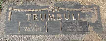 TRUMBULL, ADA B. - Minnehaha County, South Dakota | ADA B. TRUMBULL - South Dakota Gravestone Photos