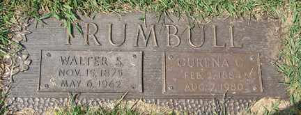 TRUMBULL, CURENA C. - Minnehaha County, South Dakota | CURENA C. TRUMBULL - South Dakota Gravestone Photos