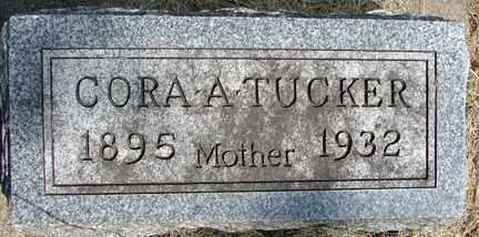 TUCKER, CORA A. - Minnehaha County, South Dakota | CORA A. TUCKER - South Dakota Gravestone Photos