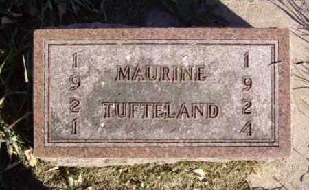 TUFTELAND, MAURINE - Minnehaha County, South Dakota | MAURINE TUFTELAND - South Dakota Gravestone Photos