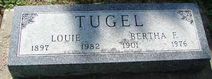 TUGEL, BERTHA F. - Minnehaha County, South Dakota | BERTHA F. TUGEL - South Dakota Gravestone Photos