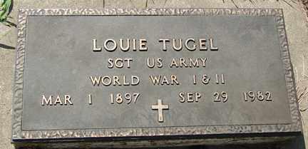 TUGEL, LOUIE (WWI - WWII) - Minnehaha County, South Dakota   LOUIE (WWI - WWII) TUGEL - South Dakota Gravestone Photos