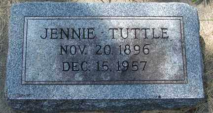 TUTTLE, JENNIE - Minnehaha County, South Dakota   JENNIE TUTTLE - South Dakota Gravestone Photos