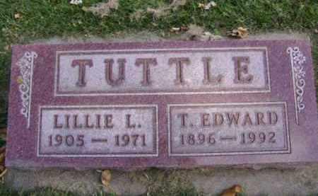 TUTTLE, T. EDWARD - Minnehaha County, South Dakota | T. EDWARD TUTTLE - South Dakota Gravestone Photos