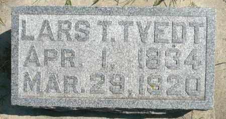 TVEDT, LARS T. - Minnehaha County, South Dakota | LARS T. TVEDT - South Dakota Gravestone Photos