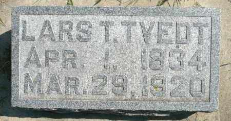 TVEDT, LARS T. - Minnehaha County, South Dakota | LARS T. TVEDT - South Dakota Gravestone Photos