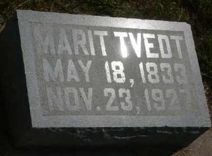 TVEDT, MARIT - Minnehaha County, South Dakota | MARIT TVEDT - South Dakota Gravestone Photos