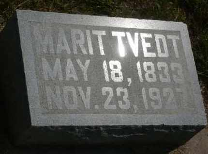 TVEDT, MARIT - Minnehaha County, South Dakota   MARIT TVEDT - South Dakota Gravestone Photos