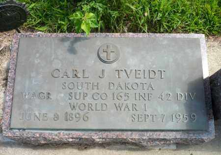 TVEIDT, CARL J. - Minnehaha County, South Dakota | CARL J. TVEIDT - South Dakota Gravestone Photos