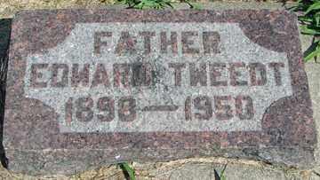 TWEEDT, EDWARD - Minnehaha County, South Dakota | EDWARD TWEEDT - South Dakota Gravestone Photos