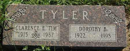 TYLER, DOROTHY B. - Minnehaha County, South Dakota   DOROTHY B. TYLER - South Dakota Gravestone Photos