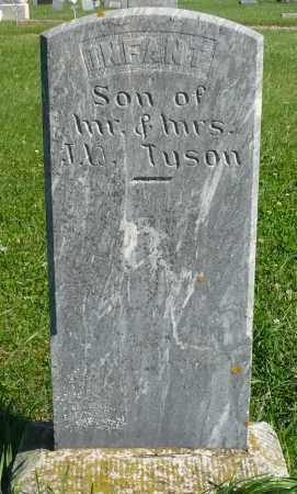 TYSON, INFANT - Minnehaha County, South Dakota | INFANT TYSON - South Dakota Gravestone Photos