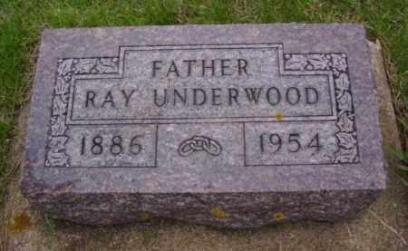 UNDERWOOD, RAY - Minnehaha County, South Dakota | RAY UNDERWOOD - South Dakota Gravestone Photos