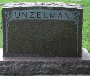 UNZELMAN, FAMILY MARKER - Minnehaha County, South Dakota | FAMILY MARKER UNZELMAN - South Dakota Gravestone Photos