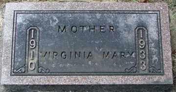 UNZELMAN, VIRGINIA MARY - Minnehaha County, South Dakota   VIRGINIA MARY UNZELMAN - South Dakota Gravestone Photos