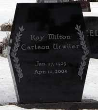URWILER, ROY MILTON CARLSON - Minnehaha County, South Dakota | ROY MILTON CARLSON URWILER - South Dakota Gravestone Photos