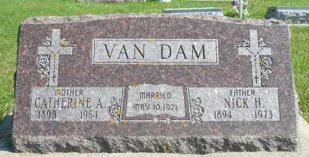 HERWATH VAN DAM, CATHERINE A. - Minnehaha County, South Dakota | CATHERINE A. HERWATH VAN DAM - South Dakota Gravestone Photos