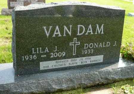 VAN DAM, LILA J. - Minnehaha County, South Dakota | LILA J. VAN DAM - South Dakota Gravestone Photos