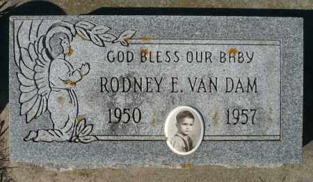 VAN DAM, RODNEY E. - Minnehaha County, South Dakota   RODNEY E. VAN DAM - South Dakota Gravestone Photos