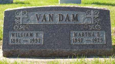 VAN DAM, WILLIAM H. - Minnehaha County, South Dakota | WILLIAM H. VAN DAM - South Dakota Gravestone Photos