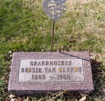 VAN GERPEN, BESSIE - Minnehaha County, South Dakota | BESSIE VAN GERPEN - South Dakota Gravestone Photos