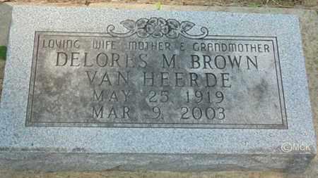 VAN HEERDE, DELORIS M. - Minnehaha County, South Dakota | DELORIS M. VAN HEERDE - South Dakota Gravestone Photos