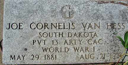 VAN HESS, JOE CORNELIS (WWII) - Minnehaha County, South Dakota | JOE CORNELIS (WWII) VAN HESS - South Dakota Gravestone Photos
