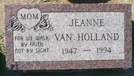 VAN HOLLAND, JEANNE - Minnehaha County, South Dakota | JEANNE VAN HOLLAND - South Dakota Gravestone Photos