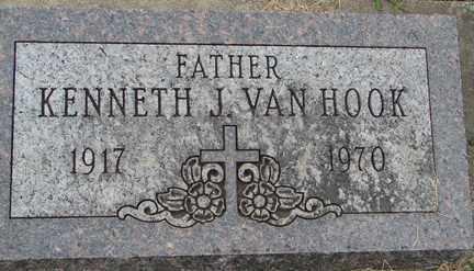 VAN HOOK, KENNETH J. - Minnehaha County, South Dakota | KENNETH J. VAN HOOK - South Dakota Gravestone Photos