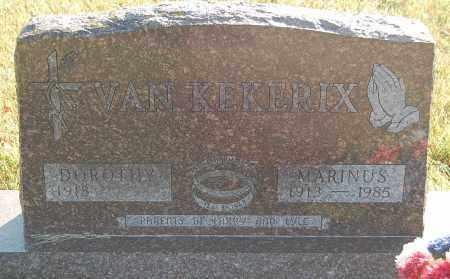 VAN KEKERIX, MARINUS - Minnehaha County, South Dakota | MARINUS VAN KEKERIX - South Dakota Gravestone Photos