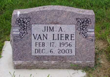 VAN LIERE, JIM  A. - Minnehaha County, South Dakota | JIM  A. VAN LIERE - South Dakota Gravestone Photos