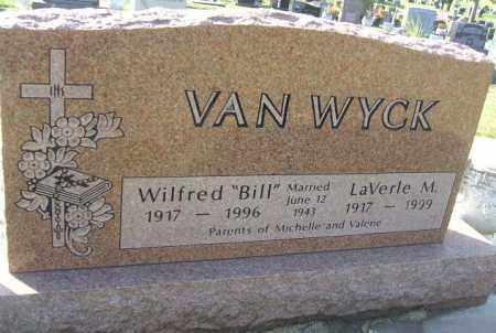 "VAN WYCK, WILFRED ""BILL"" - Minnehaha County, South Dakota | WILFRED ""BILL"" VAN WYCK - South Dakota Gravestone Photos"