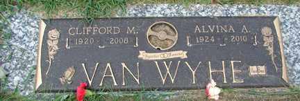 VAN WYHE, CLIFFORD M. - Minnehaha County, South Dakota | CLIFFORD M. VAN WYHE - South Dakota Gravestone Photos