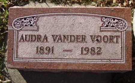 VANDER VOORT, AUDRA - Minnehaha County, South Dakota | AUDRA VANDER VOORT - South Dakota Gravestone Photos