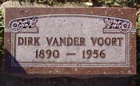 VANDER VOORT, DIRK - Minnehaha County, South Dakota | DIRK VANDER VOORT - South Dakota Gravestone Photos
