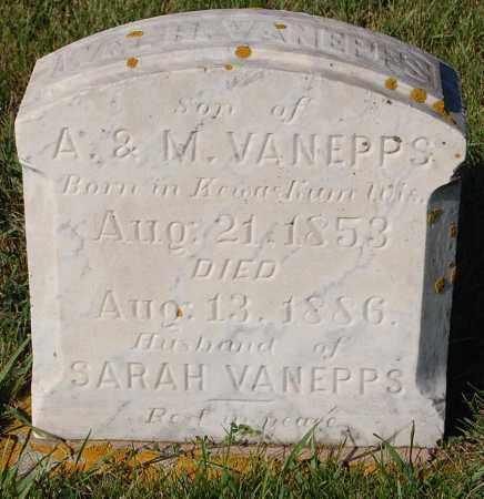 VANEPPS, WM. H. - Minnehaha County, South Dakota | WM. H. VANEPPS - South Dakota Gravestone Photos