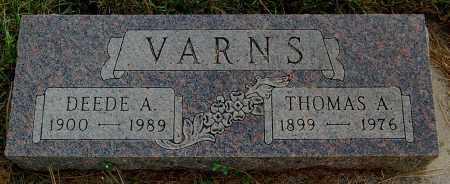 VARNS, DEEDE A. - Minnehaha County, South Dakota | DEEDE A. VARNS - South Dakota Gravestone Photos