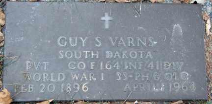 VARNS, GUY S. - Minnehaha County, South Dakota | GUY S. VARNS - South Dakota Gravestone Photos