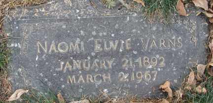 VARNS, NAOMI ELVIE - Minnehaha County, South Dakota | NAOMI ELVIE VARNS - South Dakota Gravestone Photos