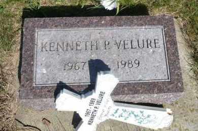 VELURE, KENNETH P. - Minnehaha County, South Dakota | KENNETH P. VELURE - South Dakota Gravestone Photos