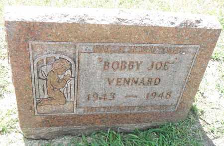VENNARD, BOBBY JOE - Minnehaha County, South Dakota | BOBBY JOE VENNARD - South Dakota Gravestone Photos