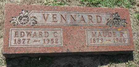 VENNARD, EDWARD - Minnehaha County, South Dakota   EDWARD VENNARD - South Dakota Gravestone Photos