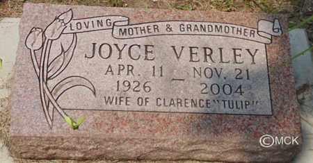 VERLEY, JOYCE - Minnehaha County, South Dakota | JOYCE VERLEY - South Dakota Gravestone Photos