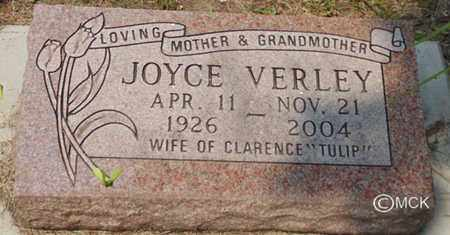 VERLEY, JOYCE - Minnehaha County, South Dakota | JOYCE VERLEY - South Dakota Gravestone Photos