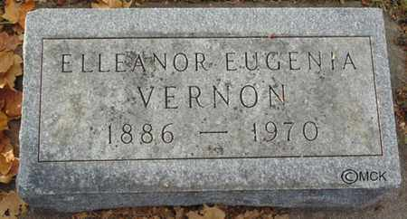 VERNON, ELLEANOR EUGENIA - Minnehaha County, South Dakota   ELLEANOR EUGENIA VERNON - South Dakota Gravestone Photos